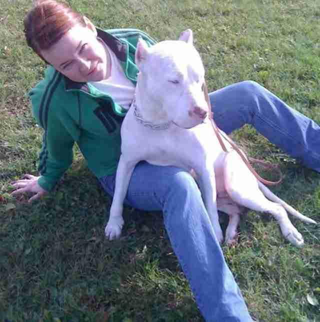 Είχαν προγραμματίσει να θανατώσουν αυτό το σκυλί. Μέχρι που εμφανίστηκε μια γυναίκα..