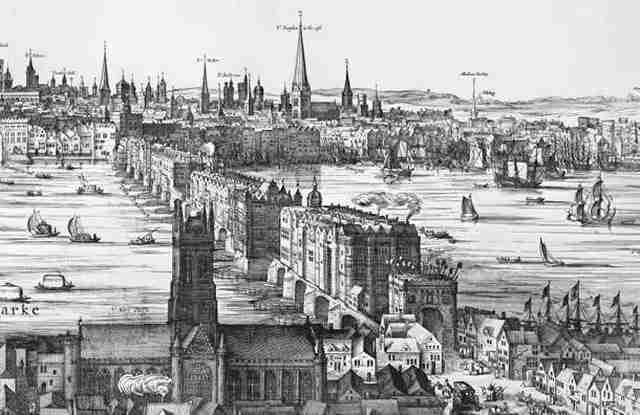 Η αρχική γέφυρα του Λονδίνου που διευκόλυνε τους Λονδρέζους στις μετακινήσεις τους, είχε και άλλη μια πρόσθετη χρήση.