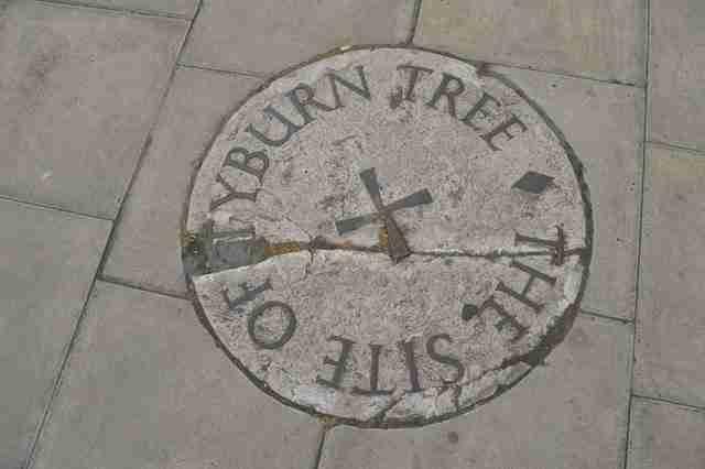 Το Τάιμπερν είναι ο τόπος όπου εκτελέστηκαν πάνω από 50.000 άνθρωποι.