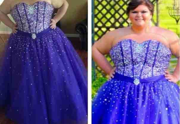 Οι περισσότεροι που την είδαν γελούσαν με το φόρεμα που διάλεξε. Αλλά δείτε ποιος γελάει τώρα!