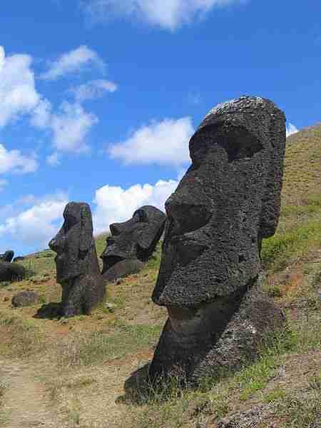 Οι επιστήμονες ανακάλυψαν τι υπάρχει θαμμένο κάτω από τα αγάλματα του Νησιού του Πάσχα. Και είναι καταπληκτικό!