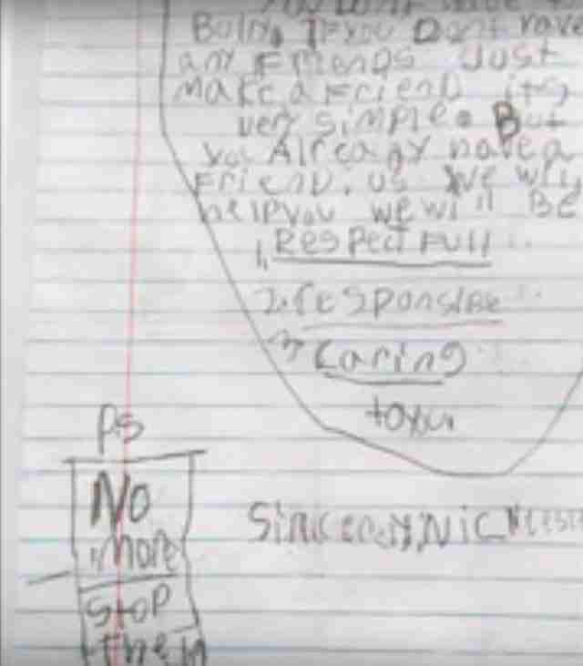 Αυτό το αγόρι έγραψε ένα γράμμα. Όταν το είδε ο δάσκαλος του το διάβασε σε ολόκληρο το σχολείο!
