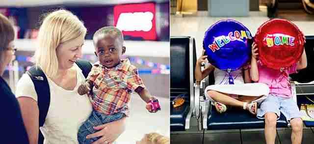 Παιδιά συναντούν τη νέα τους οικογένεια! Φωτογραφίες που κόβουν την ανάσα!