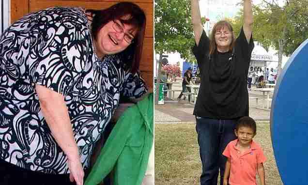 Όταν γεννήθηκε ο εγγονός της αποφάσισε να χάσει κιλά. Τότε ζύγιζε 190 κιλά. Σήμερα; Απίστευτη αλλαγή!