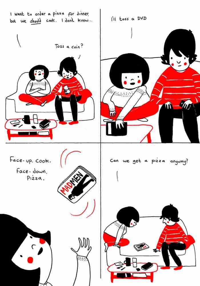 Η αγάπη είναι στα μικρά πράγματα! Δείτε το κόμικ που θα σας κάνει να χαμογελάσετε..