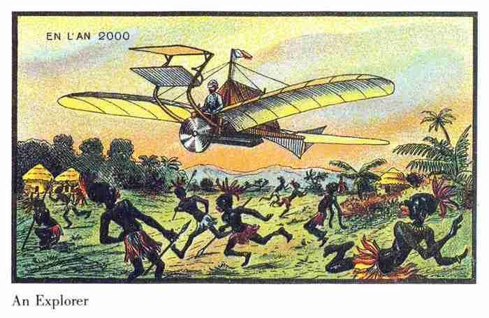Πριν από 100 χρόνια ζήτησαν από καλλιτέχνες να ζωγραφίσουν τον κόσμο του 2000. Αυτά ήταν τα αποτελέσματα