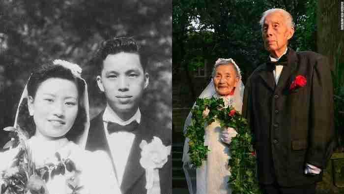 Ξαναέζησαν τον γάμο τους έπειτα από 70 χρόνια με έναν καταπληκτικό τρόπο!