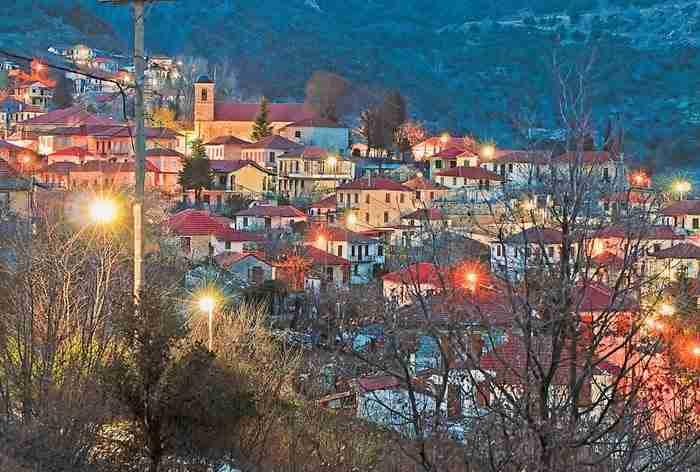 Τα 30 ωραιότερα χωριά της Ελλάδας.