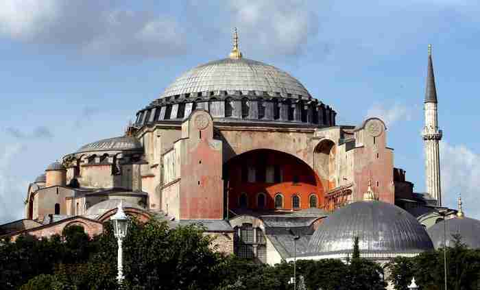 Το πρώτο σε επισκεψιμότητα αξιοθέατο της Τουρκίας είναι και φέτος η Αγιά Σοφιά