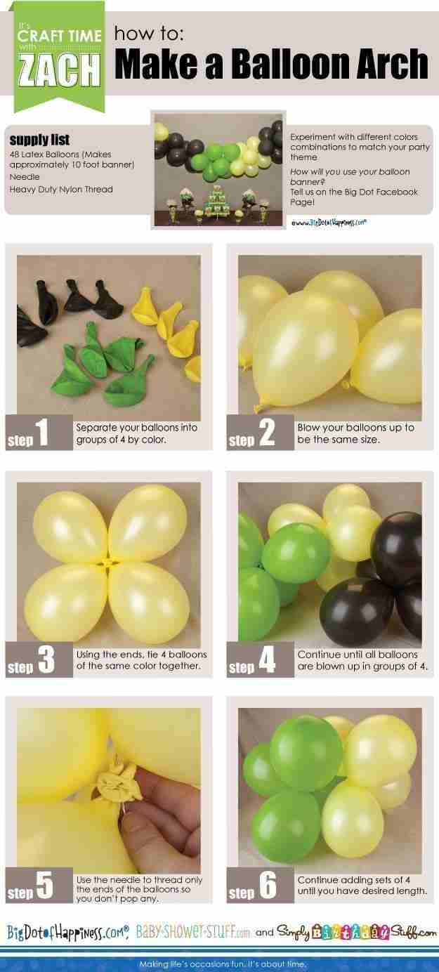 26 καταπληκτικά πράγματα που δεν ξέρατε ότι μπορείτε να φτιάξετε με ένα μπαλόνι.