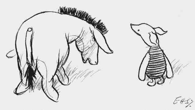 20 απίστευτα σοφά πράγματα που μας έμαθε ο Γουίνι το αρκουδάκι!