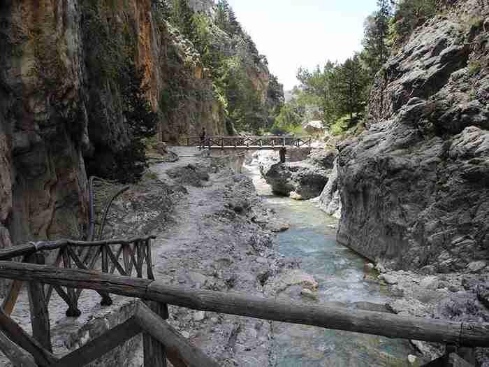 Το Φαράγγι της Σαμαριάς: Το μακρύτερο φαράγγι της Ευρώπης βρίσκεται στη Κρήτη
