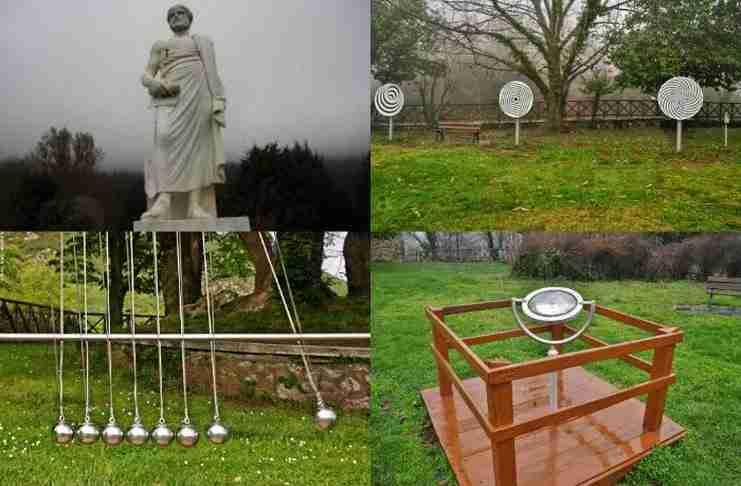 Όλοι οι νόμοι της Φυσικής του Αριστοτέλη βρίσκονται μέσα σ΄ένα θεματικό πάρκο στη Χαλκιδική.