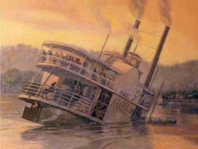 Ανακάλυψαν ένα ατμόπλοιο που βυθίστηκε πριν από 150 χρόνια. Αυτό που υπήρχε στο εσωτερικό του ήταν απλά εκπληκτικό!