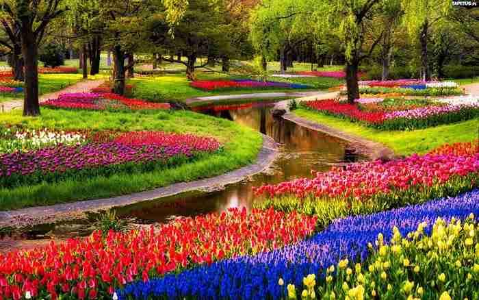 21 απίστευτα μέρη στον κόσμο που την Άνοιξη μετατρέπονται σε παραδεισένιους κήπους