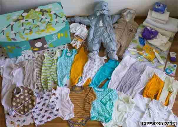 Γνωρίζετε γιατί τα μωρά στη Φινλανδία κοιμούνται σε χαρτονένια κουτιά;