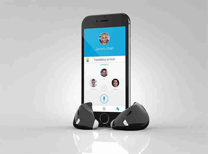 Ήρθε το ακουστικό που το φοράτε στο αυτί και σας μεταφράζει σε πραγματικό χρόνο