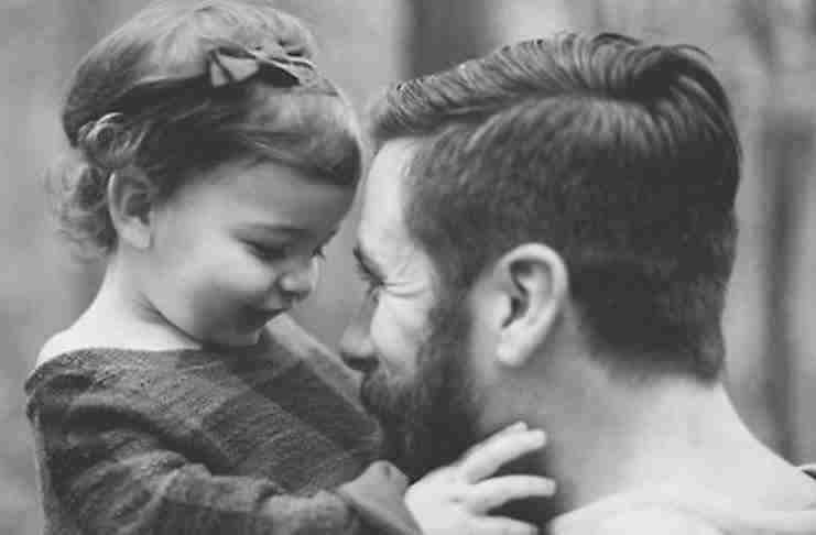 «Άντρας της ζωής σου είναι πάντα ο μπαμπάς σου...»