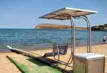 Tοποθετούνται ράμπες για ΑμεΑ σε 17 παραλίες της Αττικής
