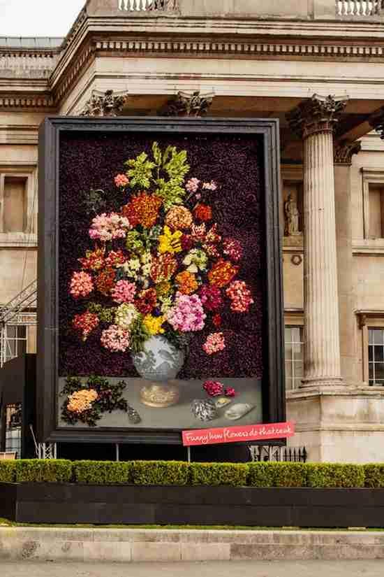 Έφτιαξαν πίνακα με 26.500 αληθινά λουλούδια!