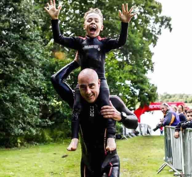 Το 8χρονο αγοράκι με εγκεφαλική παράλυση που μας χάρισε τον πιο θεαματικό τερματισμό!