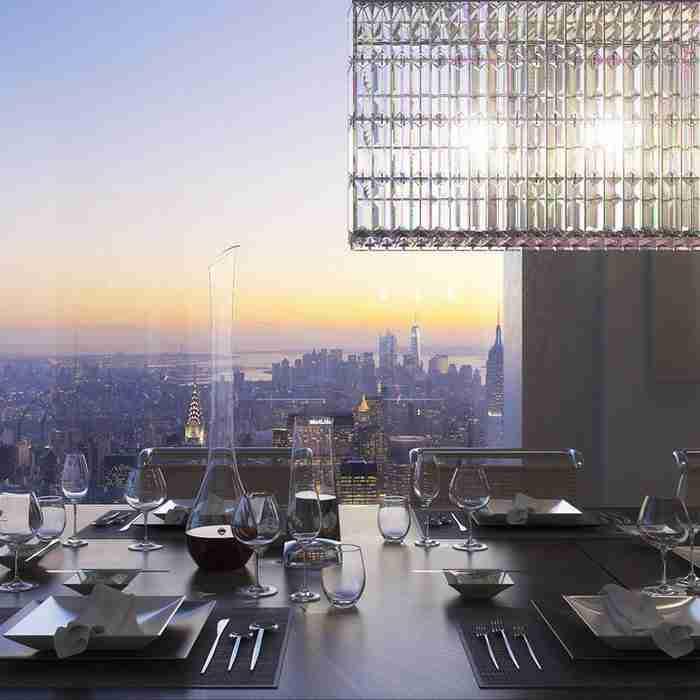Έχετε αναρωτηθεί πως είναι να ζεις σε σπίτι αξίας 95 εκατομμυρίων 425 μέτρα πάνω από το έδαφος;