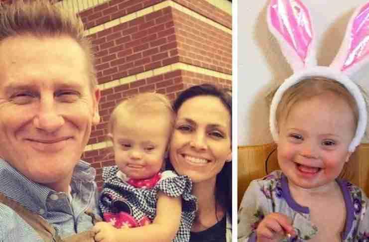 """Κάποιοι χαρακτήρισαν την κόρη του με σύνδρομο Down ένα """"λάθος"""". Τους έδωσε την καλύτερη απάντηση"""