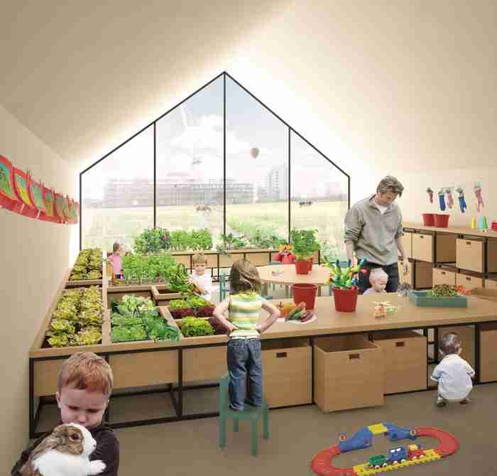 Δημιούργησαν νηπιαγωγείο -φάρμα που τα παιδιά μαθαίνουν μέσω της καλλιέργειας και της επαφής με τη φύση!