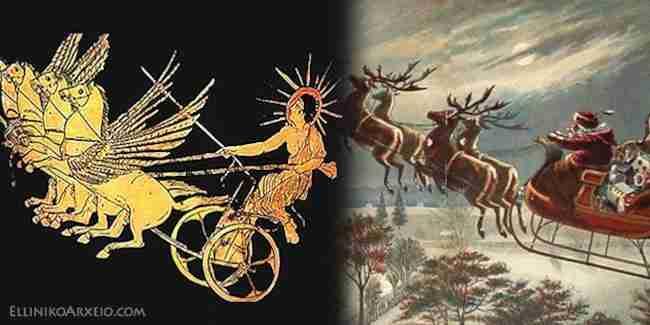 Ηλιούγεννα: Το αρχαίο Ελληνικό έθιμο των Χριστουγέννων...