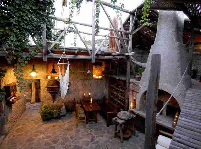 Παλιό ελαιοτριβείο στη Λήμνο μεταμορφώθηκε σε ένα υπέροχο σπίτι!