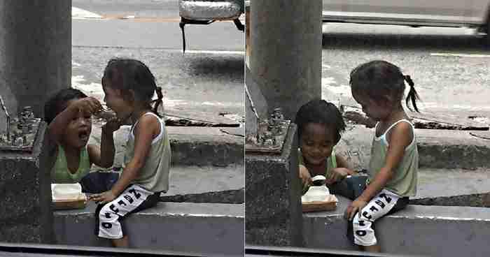 Ένα παιδί του δρόμου θυσιάζεται για να φροντίσει την μικρή αδερφή του και το διαδίκτυο δακρύζει από συγκίνηση