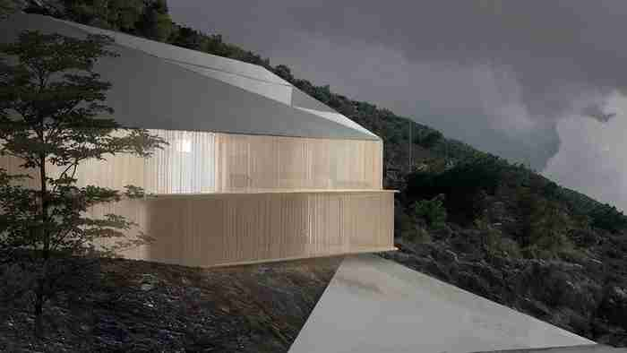 Το πιο εντυπωσιακό σπίτι της Αττικής κατασκευάζεται στη Βούλα και θυμίζει Oριγκάμι