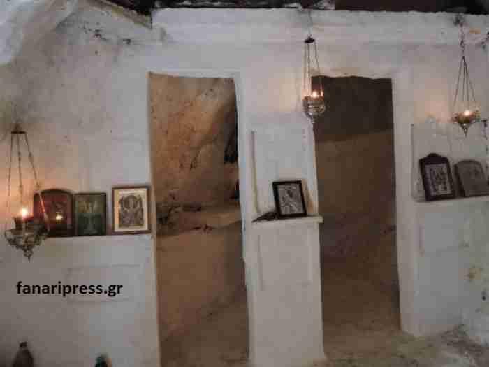 Το υπέροχο εκκλησάκι χτισμένο μέσα σε σπηλιά στην Πρέβεζα