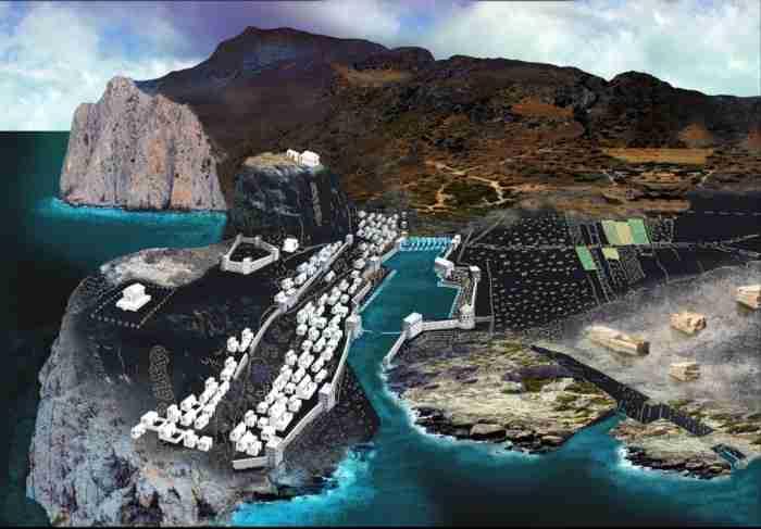 Η μαγευτική ελληνική παραλία που κάποτε ήταν αρχαίο λιμάνι, μοναδικό στον κόσμο!