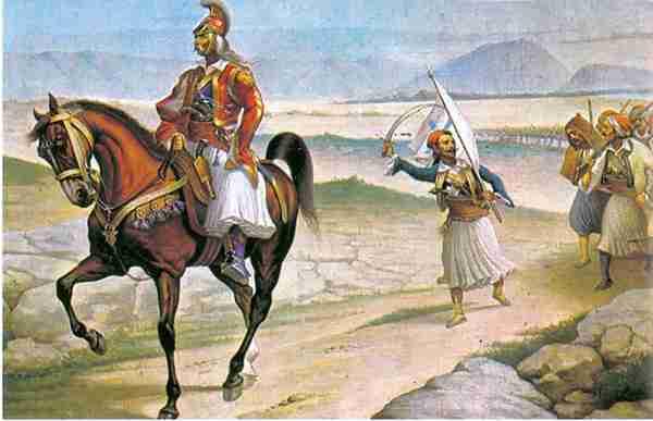 Τα Δερβενάκια από ψηλά. Η περιοχή που τον Ιούλιο του 1822 οι Έλληνες πέτυχαν τη μεγαλύτερη νίκη στη διάρκεια της Επανάστασης