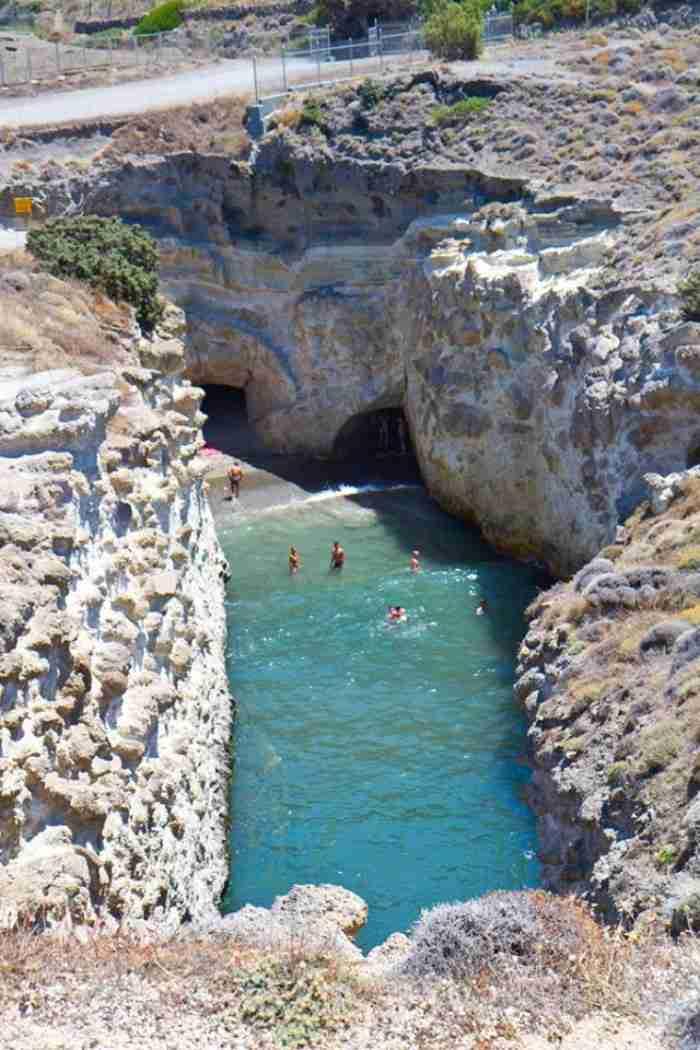 Μια παραλία πραγματικό.. θαύμα της ελληνικής φύσης! Χιλιάδες χρόνια χρειάστηκαν για να δημιουργηθεί!