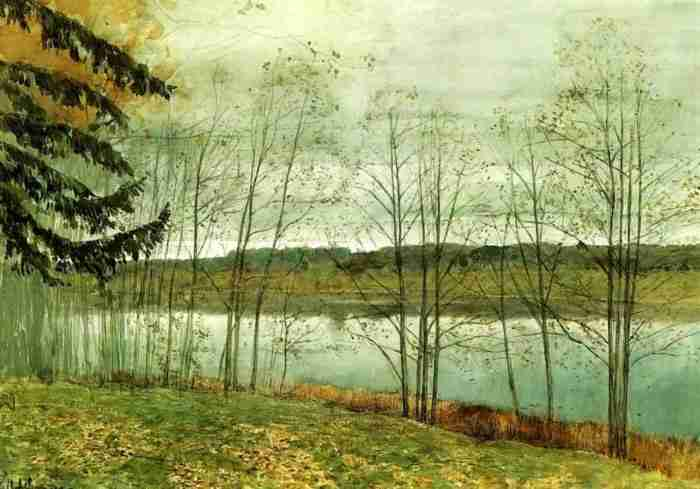 15 υπέροχοι ζωγραφικοί πίνακες με θέμα το φθινόπωρο