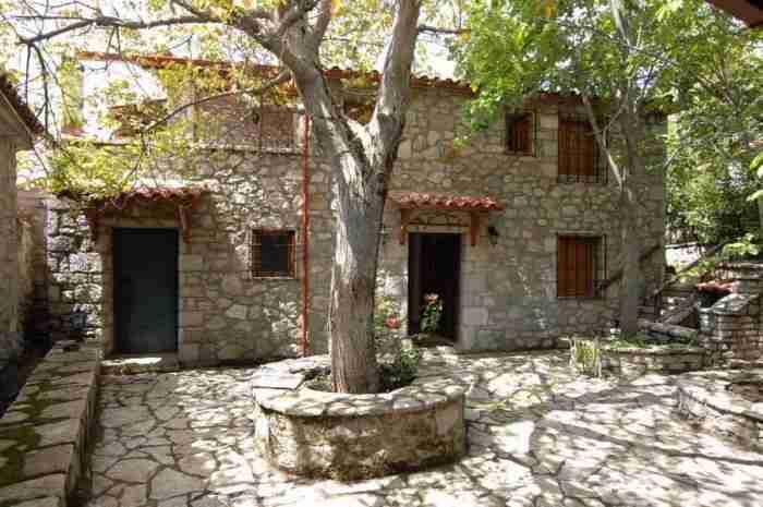 Έλατα, καταρράκτες και σπηλιές. Το ομορφότερο χωριό κοντά στην Αθήνα παραμένει ένα μεγάλο μυστικό