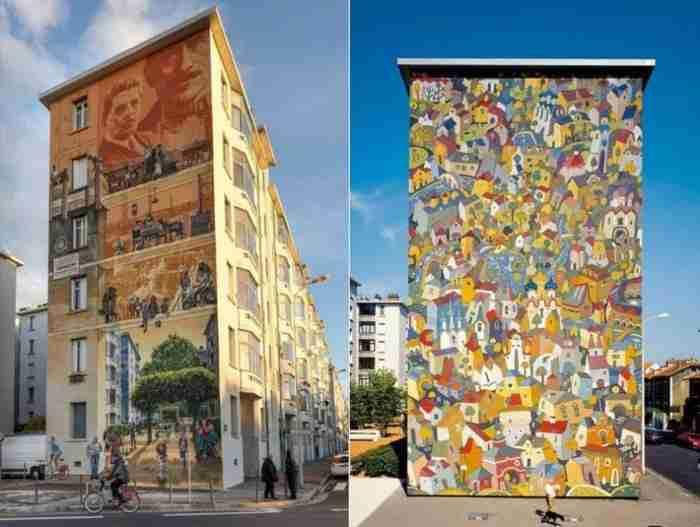 Κι όμως, είναι ζωγραφισμένος τοίχος