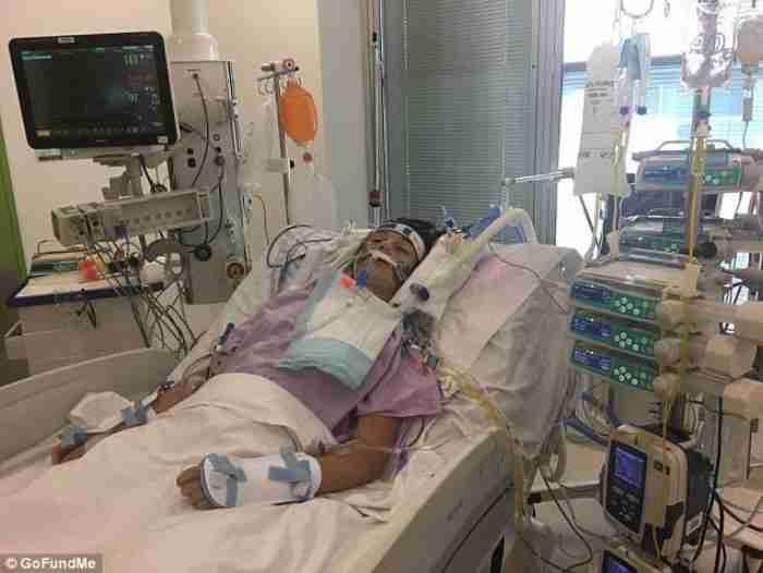 14χρονη που έπεσε σε κώμα και κόντεψε να πεθάνει από γρίπη λέει ότι χρωστάει τη ζωή της σε έναν άγγελο