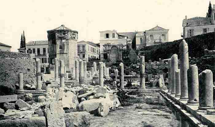 Οι γειτονιές της παλιάς Αθήνας: Από τα Χαυτεία στο Δουργούτι