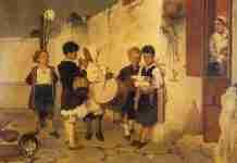 Ο διασημότερος ελληνικός πίνακας των Χριστουγέννων και η ιστορία του