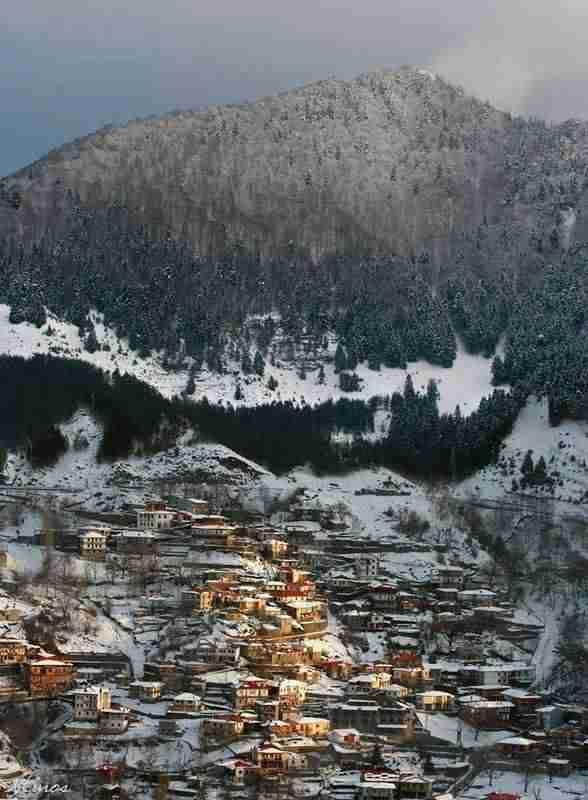 25 φανταστικά τοπία της Ελλάδας που αποδεικνύουν ότι ο χειμώνας της πάει πολύ