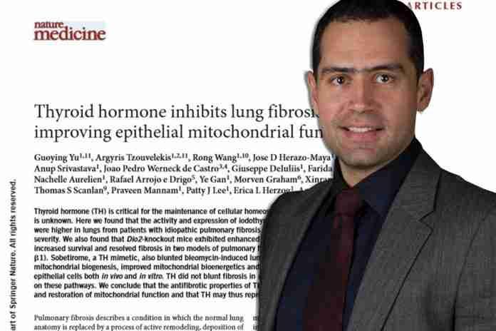 Σπουδαία ανακάλυψη για τη θεραπεία της πνευμονικής ίνωσης με επικεφαλής τον Έλληνα Πνευμονολόγο Αρ. Τζουβελέκη