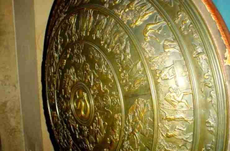 H θρυλική ασπίδα του Αχιλλέα για την οποία ο Όμηρος αφιέρωσε 134 στίχους στην Ιλιάδα
