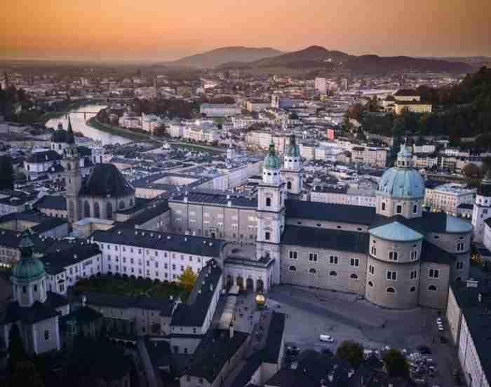 Σάλτσμπουργκ: Η πεντάμορφη Ρώμη των Άλπεων