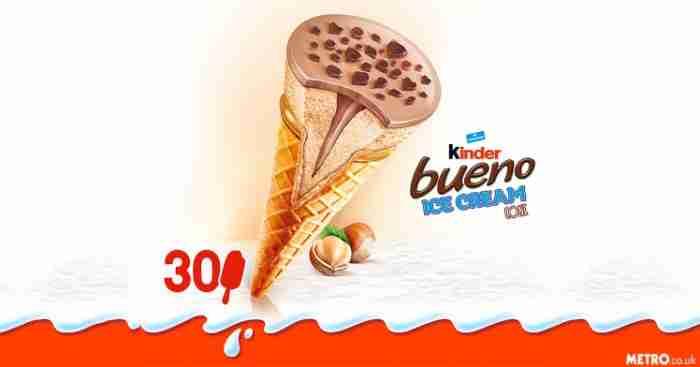 Το Kinder Bueno γίνεται παγωτό για το καλοκαίρι και προκαλεί... φρενίτιδα