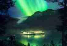 Το παραμυθένιο ξενοδοχείο στη Νορβηγία με θέα τους παγετώνες και το Βόρειο Σέλας