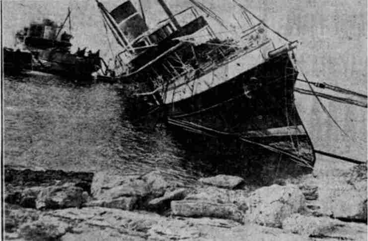 """Το τραγικό ναυάγιο του """"Πόπη"""" που έγινε η παροιμιώδης έκφραση """"Της Πόπης"""""""