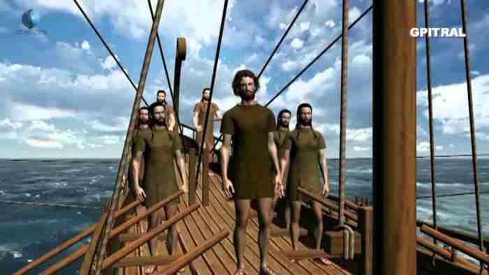 Η Οδύσσεια σε ένα υπέροχο τρισδιάστατο βίντεο Animation